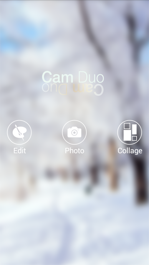 CamDuo: Front Back Photo Suite- screenshot