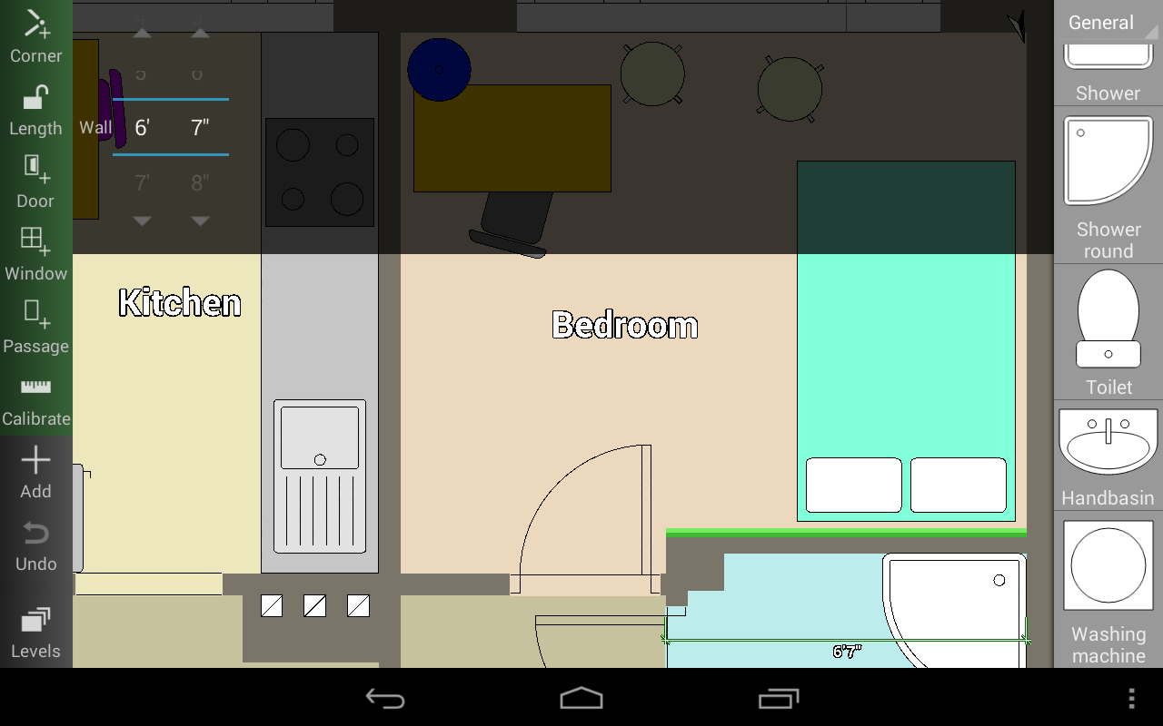 Floor plan creator android apps on google play for Make a room layout online