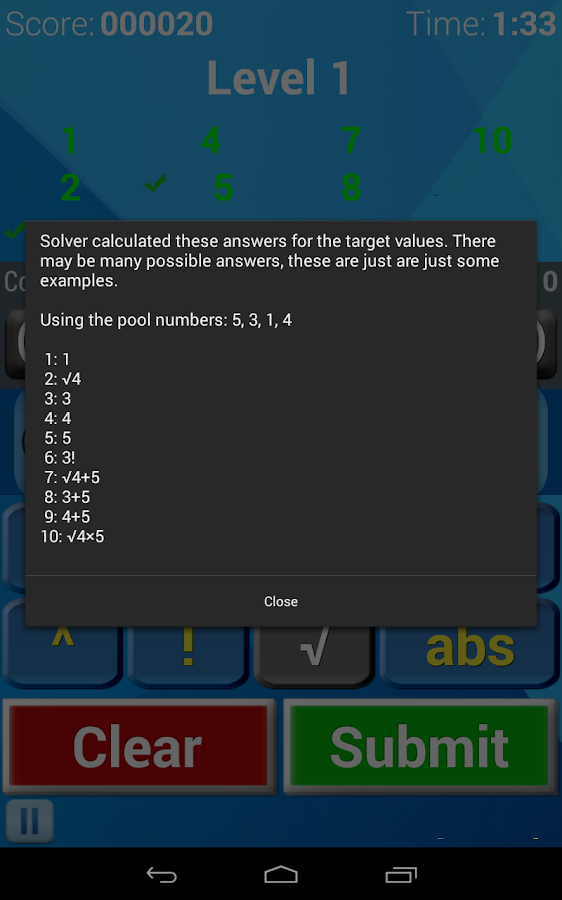 Number Twist - Math game- screenshot