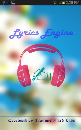 Lyrics Engine