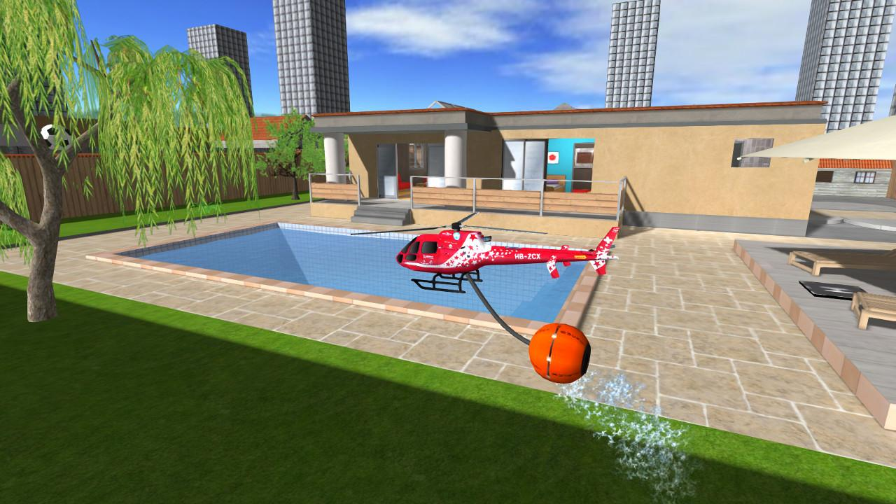 Helidroid 3 : 3D RC Helicopter - screenshot