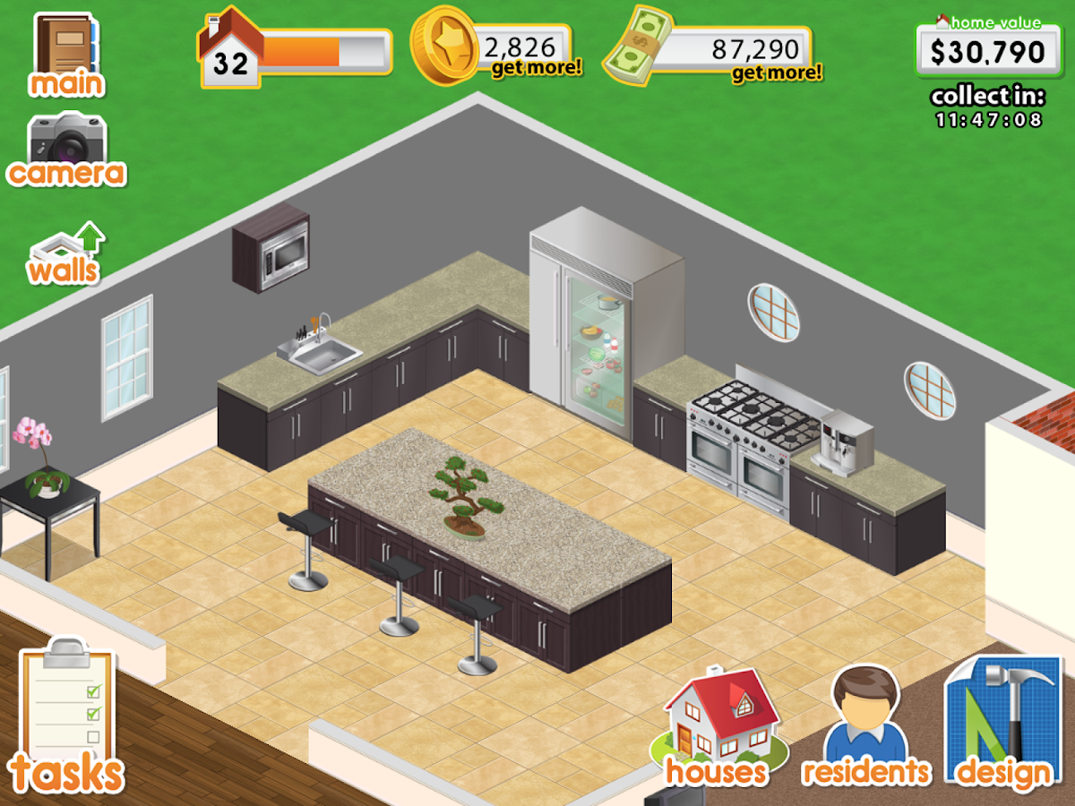 design this home screenshot - Home Designs Games