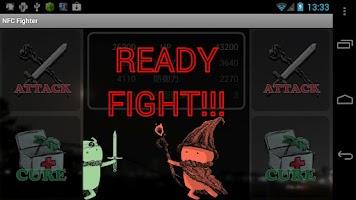 Screenshot of NFC Fighter