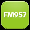 FM957 logo
