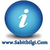 Sabit Bilgiler Bilgi Sayfası