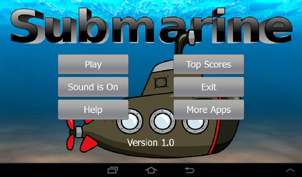 Submarine- screenshot