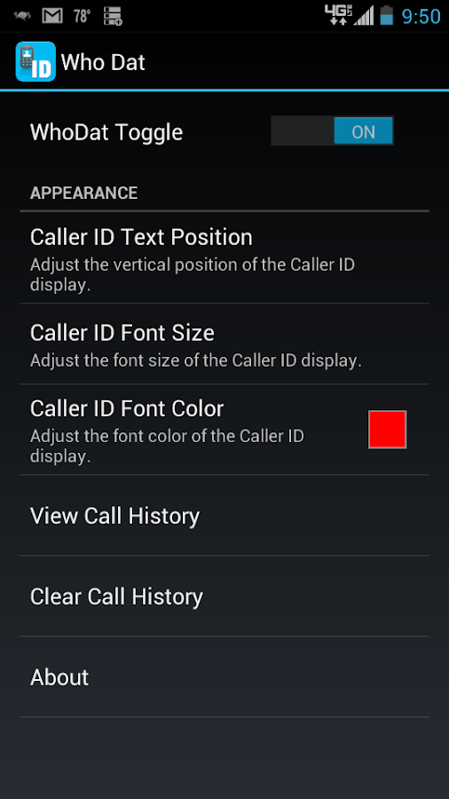 Who Dat? - Caller ID Lookup - screenshot
