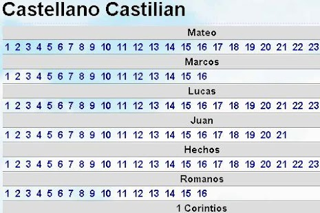 Biblia Castellano Castilian NT - screenshot thumbnail