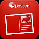 Posten Postkort logo