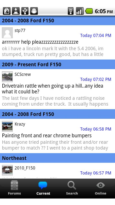 F150 Forum- screenshot