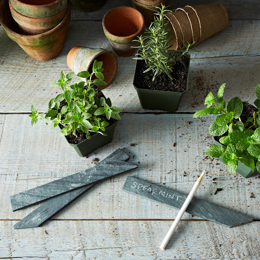 Slate Garden Markers (Set of 4)