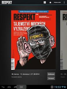Týdeník Respekt - screenshot thumbnail