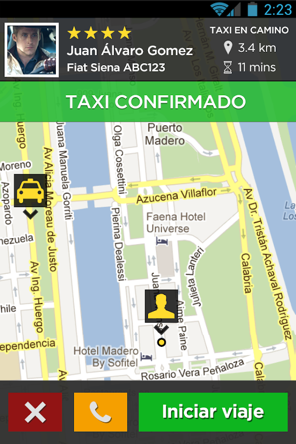 EcoTaxi- screenshot
