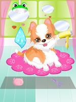 Screenshot of My Cute Puppy Spa Game