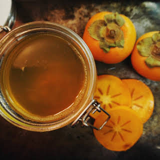 Persimmon Shrub for Cocktails & Homemade Soda.