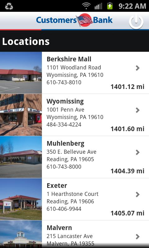 Customers Bank Mobile Banking - screenshot