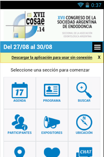 XVII Congreso de Endodoncia