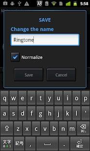 @Ringtone - screenshot thumbnail
