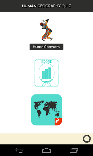 Human Geography Quiz Game