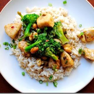 Lighter Kung Pao Chicken