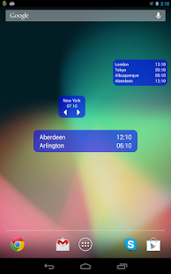 World Clock & Widget - screenshot thumbnail