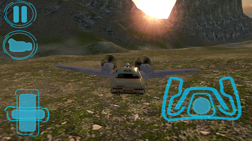 飞行汽车是免费的:警长工艺|玩賽車遊戲App免費|玩APPs