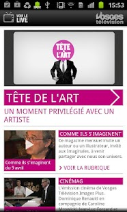 Vosges Télévision - screenshot thumbnail