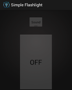 Simple Button Flashlight- screenshot thumbnail