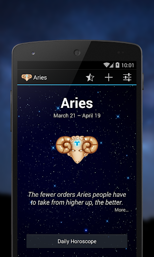 Aries - Daily horoscope 2015
