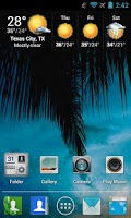 Screenshot of Motoblur HD Apex / Nova Theme
