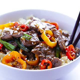 Easy Pepper Steak.