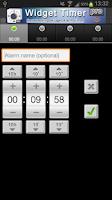 Screenshot of Widget Timer