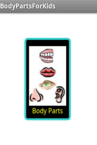 BodyParts for Kids - screenshot