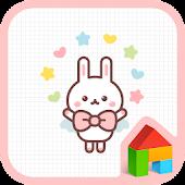 magic rabbit dodol theme