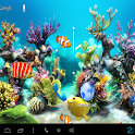 Aquarium Kitkat Live Wallpaper icon