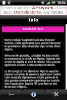 Screenshot of Dounia FM