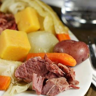 New England Boiled Dinner.