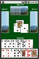 Screenshot of Hearts Card Game (JDHearts)