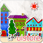 paper town LiveWallpaper icon