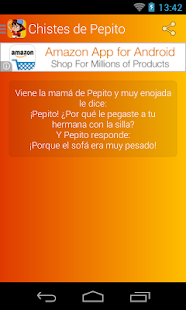 Chistes de Pepito- screenshot thumbnail