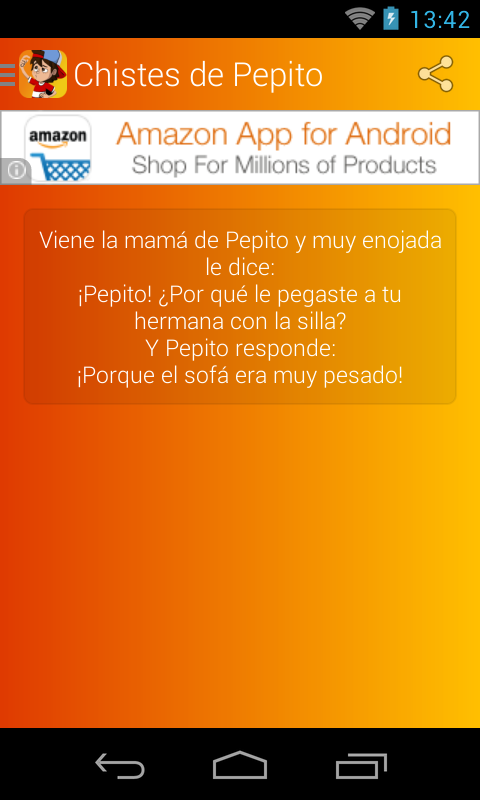 Chistes de Pepito- screenshot