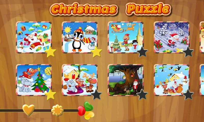 Christmas Puzzle: Santa & Pals- screenshot