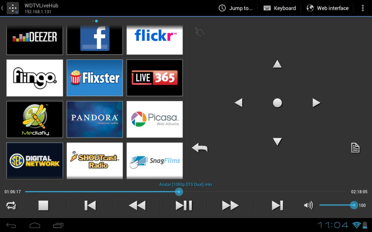 WDlxTV MPs Remote DONATE- screenshot