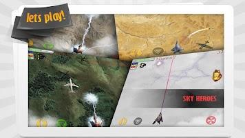 Screenshot of Sky Heroes HD