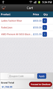 Magento Android Application screenshot 1