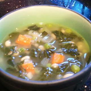 White Bean and Kale Soup.