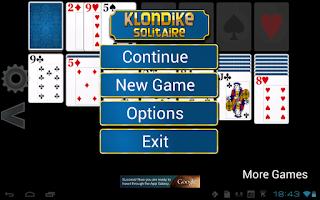 Screenshot of Klondike Solitaire HD