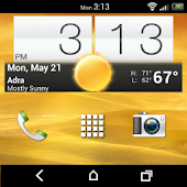 Go Launcher Theme: HTC Sense 4