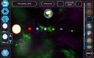 Screenshot of DJ Space: Free Music Game