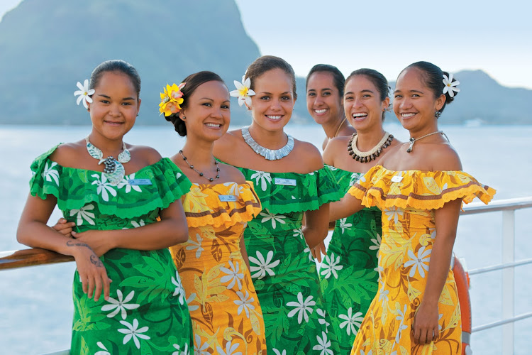 Don't pass up the chance to encounter authentic Polynesian culture aboard the Paul Gauguin.